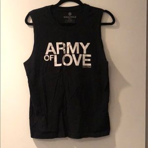 SoulCycle Army of Love Muscle Tank